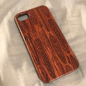 Wooden Hawaii Surfboard iPhone 7 Case